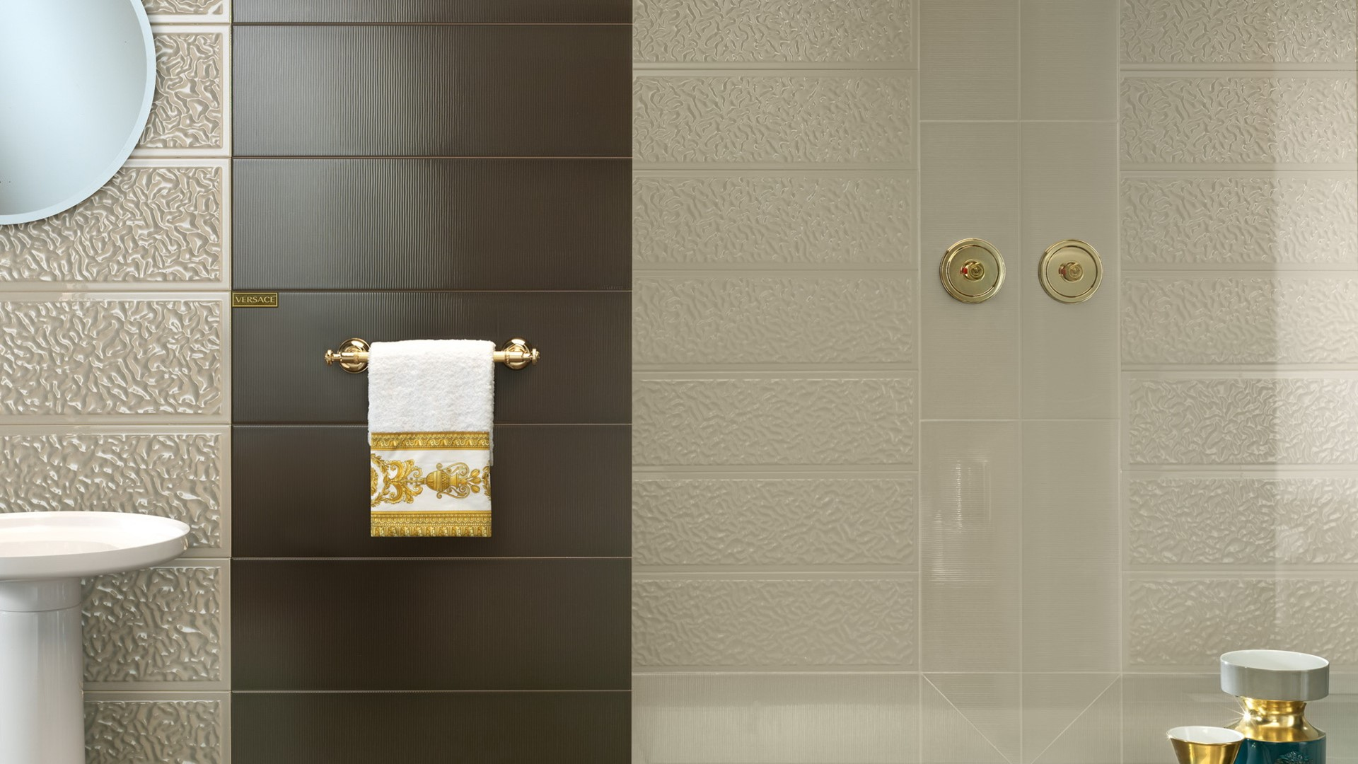 versace wall tiles tile design ideas