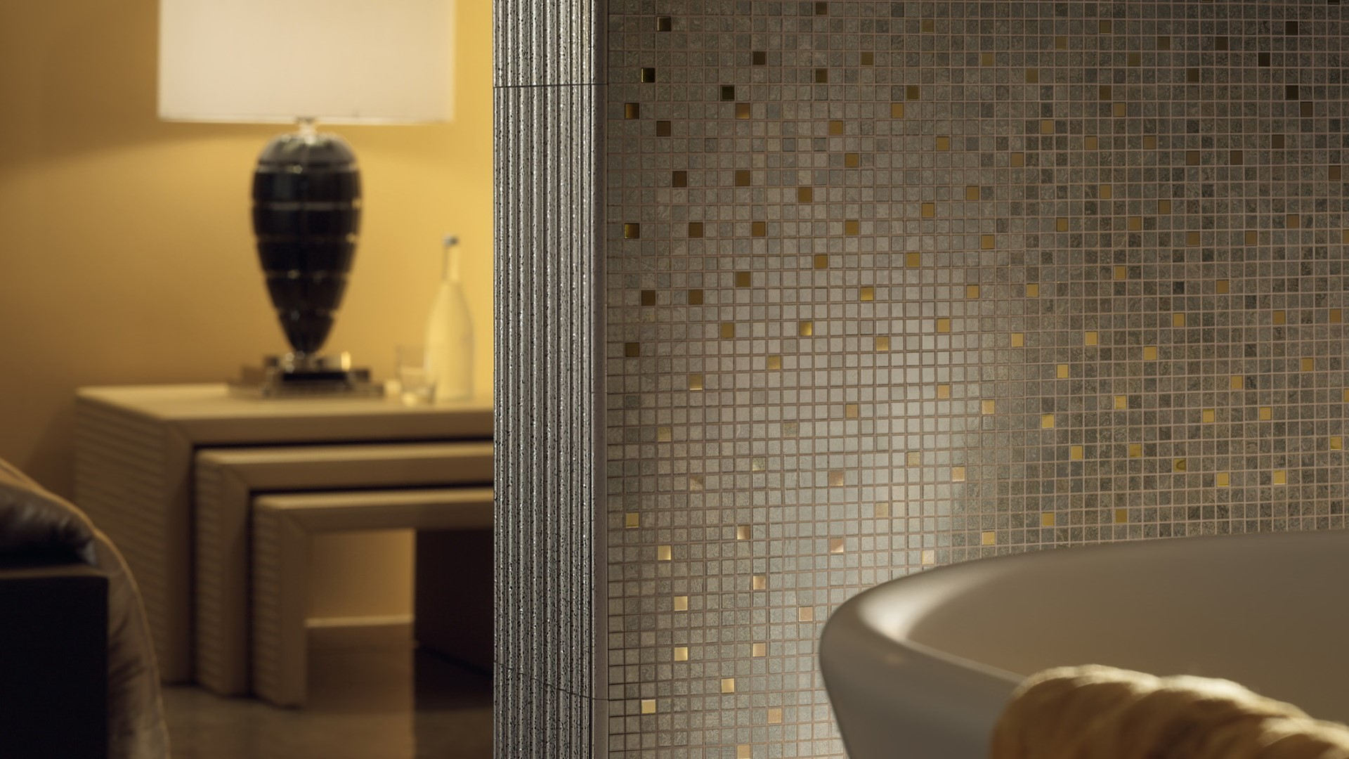 Bathroom lighting contemporary - Versace Home Tiles Versace Ceramic Tiles Versace Ceramic